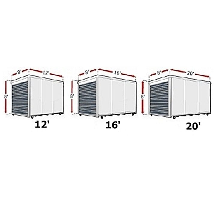 How To Figure Out What Size Storage Unit Or Pod You Will Need.