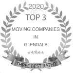 top 3 moving companies in Glendale -gray